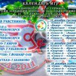 С 13 по 15 декабря в Новочебоксарске пройдет предновогодний турнир