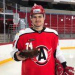 Александр Протапович дебютировал за команду КХЛ
