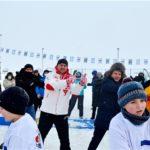 В Чувашии прошли семейные фестивали «Люблю папу, маму и хоккей»