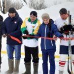 В рамках программы «Добрый лед» в Канашском районе открылась новая хоккейная коробка